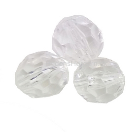 Facet glas perle 14 mm